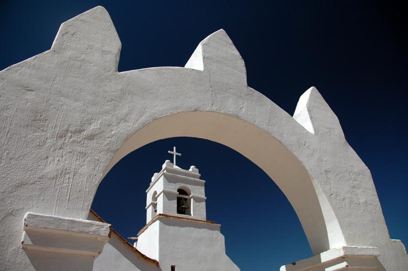 En el pueblo de San Pedro de Atacama